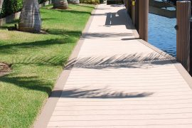 new deck over seawall | Naples Marine Construction - Naples, Florida