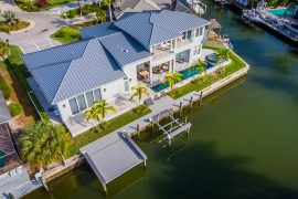 boat dock with decking | Naples Marine Construction - Naples, Florida