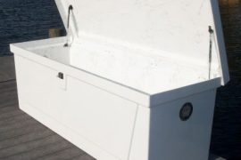 storage boxes marine construction services | Naples Marine Construction - Naples, Florida